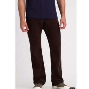 AG the protege straight leg brown corduroy size 32